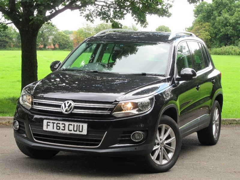 used VW Tiguan TDI BlueMotion Tech SE Station Wagon 4WD 5dr (start/stop) in cardiff-glamorgan
