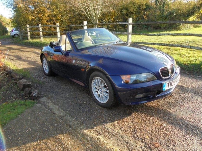 used BMW Z3 1.9 ROADSTER in leatherhead-surrey
