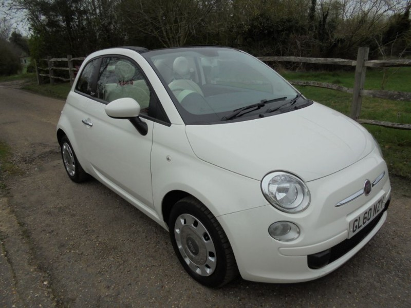used Fiat 500 1.2 C POP Convertible  in leatherhead-surrey