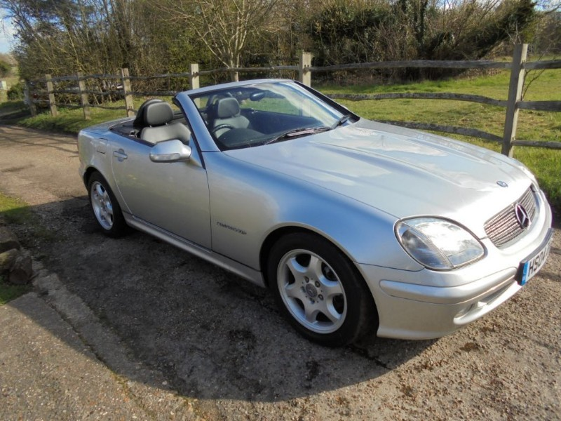 used Mercedes SLK230 230 SLK KOMPRESSOR in leatherhead-surrey