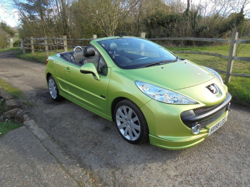 used Peugeot 207 1.6 ELLE CC CONVERTIBLE in leatherhead-surrey