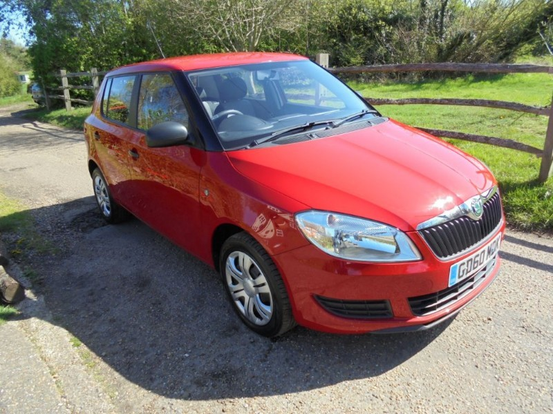 used Skoda Fabia 1.2 S 6V in leatherhead-surrey