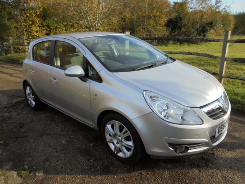 used Vauxhall Corsa 1.4 SE 5 DOOR in leatherhead-surrey