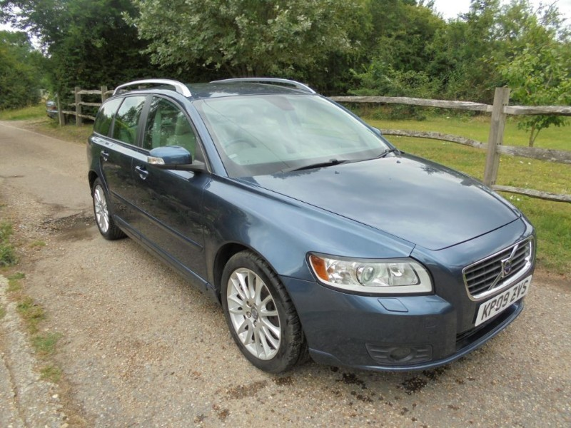 used Volvo V50 2.0 SE LUX Estate Automatic  in leatherhead-surrey