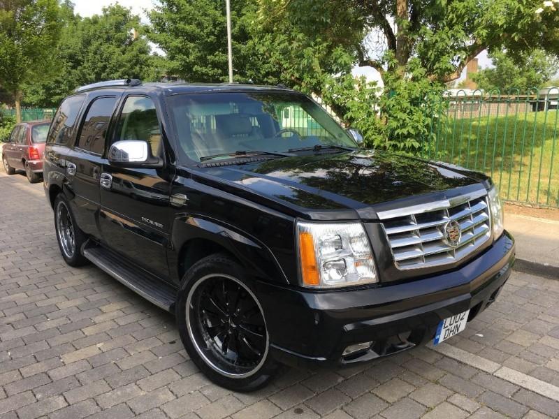Used Black Cadillac Escalade For Sale Essex