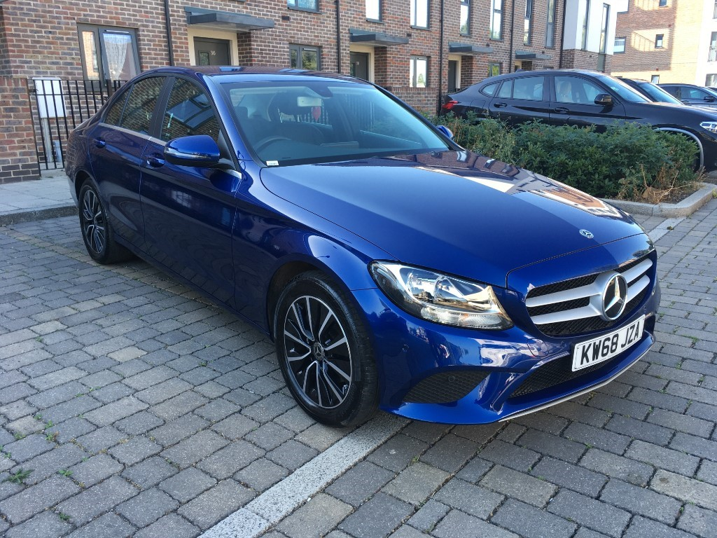 used Mercedes 220 Mercedes-BenzC Class2.0 C220d SE G-Tronic+ (s/s) 4dr in essex