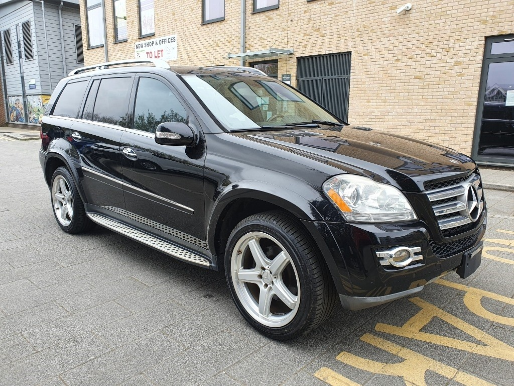 used Mercedes GL500 13-13 MERCEDES GL550 AMG 7G TRONIC, 7 SEATER AUTO 5.5 LHD , FRESH JAPANESE IMPORT,VERIFIED MILEAGE in essex