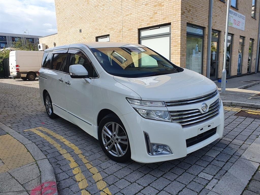 used Nissan Elgrand 60-2010 NISSAN ELGRAND HIGHWAY STAR AUTO , FRESH IMPORT , VERIFIED MILEAGES in essex