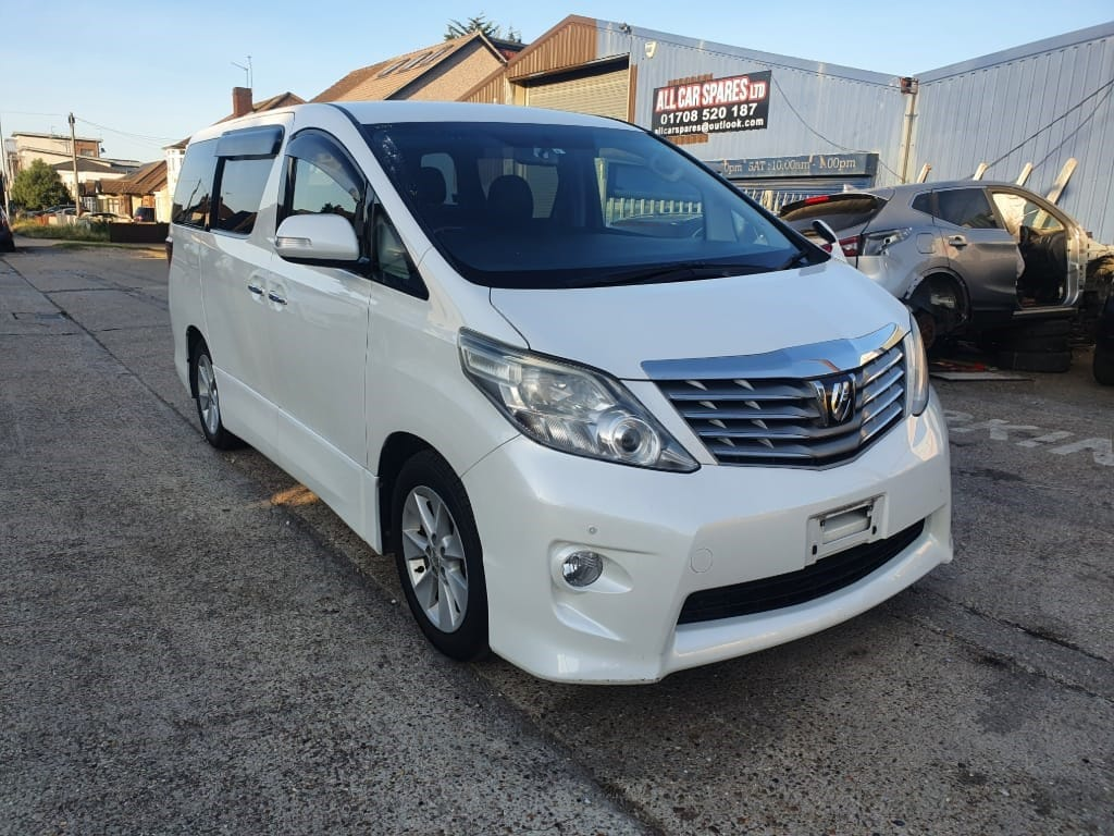 used Toyota Alphard 2009-09 TOYOTA ALPHARD 240 S , FRESH IMPORT , 8 SEATER , VERIFIED MILEAGES in essex
