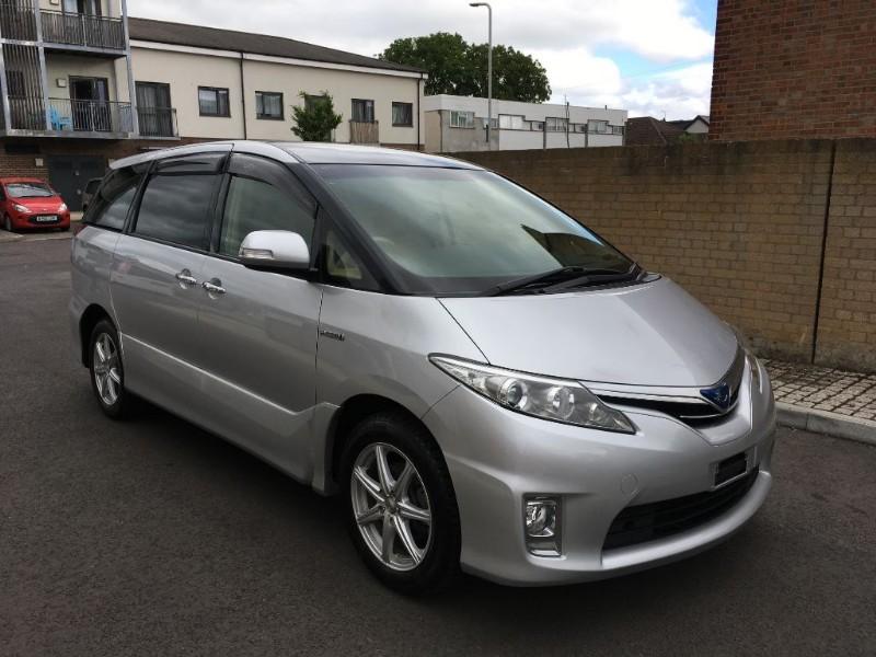 Toyota Estima 2362l12 2017 7 Seater Petrol Hybrid Verified Mileage Finance Available