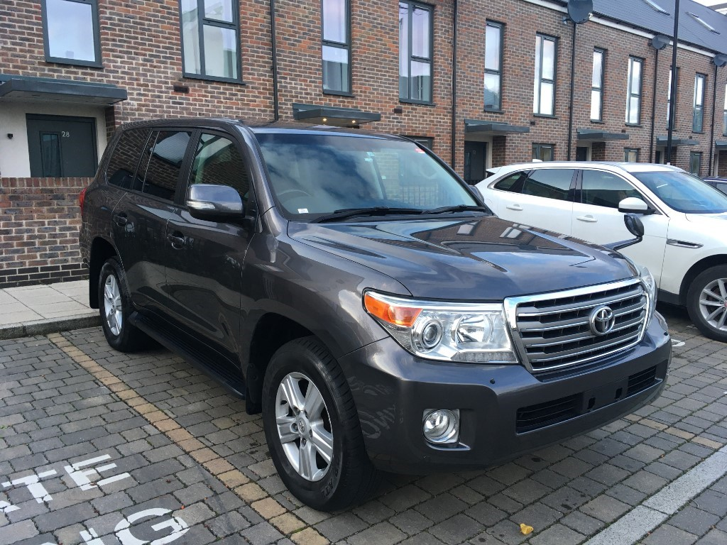 used Toyota Land Cruiser 2013 4.7 V8 PETROL AUTO FRESH IMPORT VERIFIED MILEAGE in essex