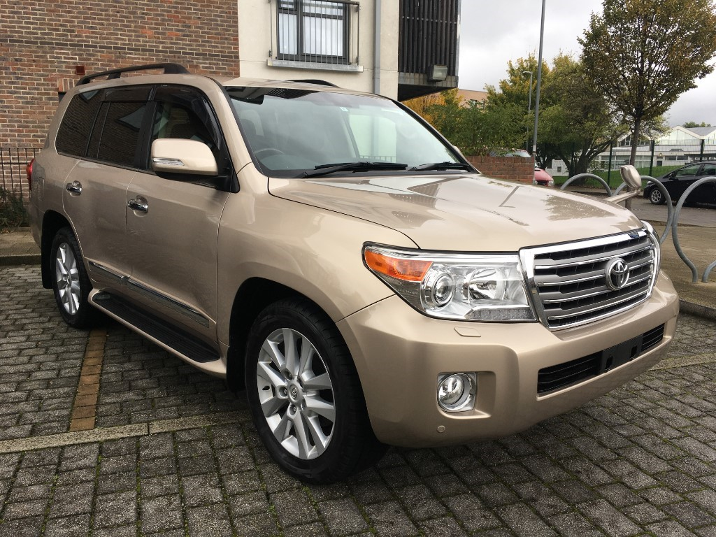 used Toyota Land Cruiser 2015 Land Cruiser ZX 4.7 v8 petrol auto fresh import verified mileage in essex