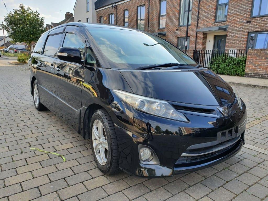 used Toyota Estima 2010-10 TOYOTA ESTIMA AERAS G-EDN PETROL AUTO 7 SEATER, FRESH IMPORT, VERIFIED MILEAGE,FINANCE AVB in essex