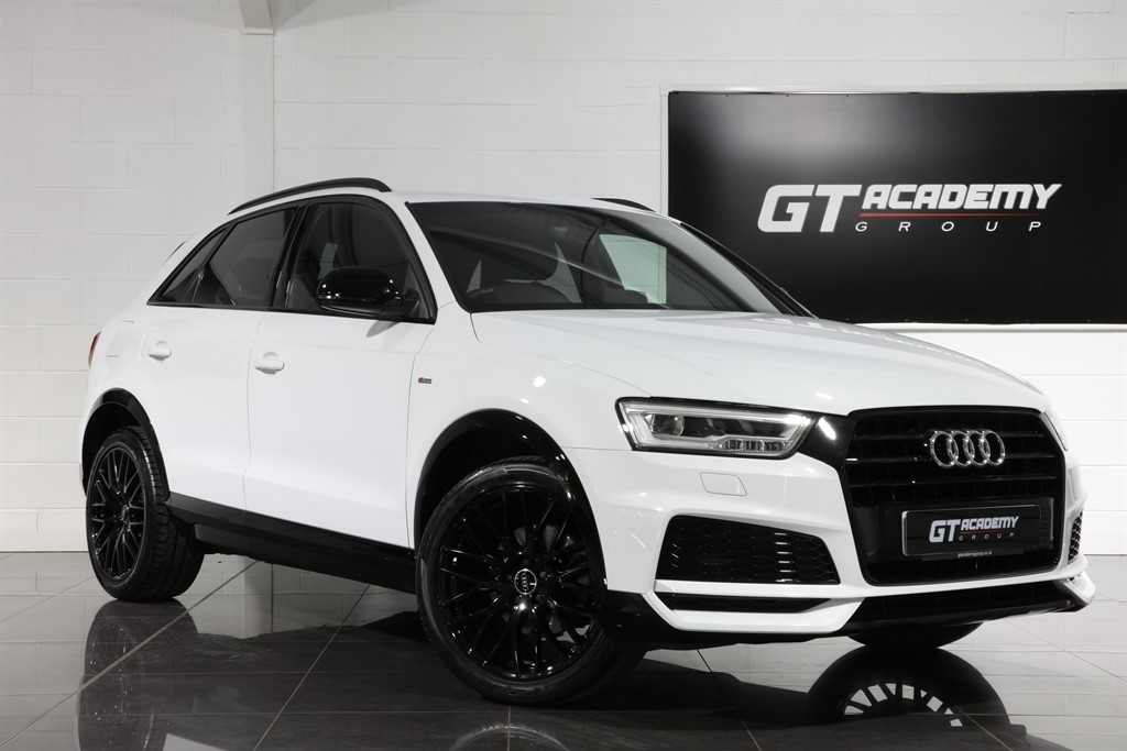 used Audi Q3 1.4TFSI S LINE BLACK EDITION - 1 OWNER - LOW MILEAGE in tring-hertfordshire