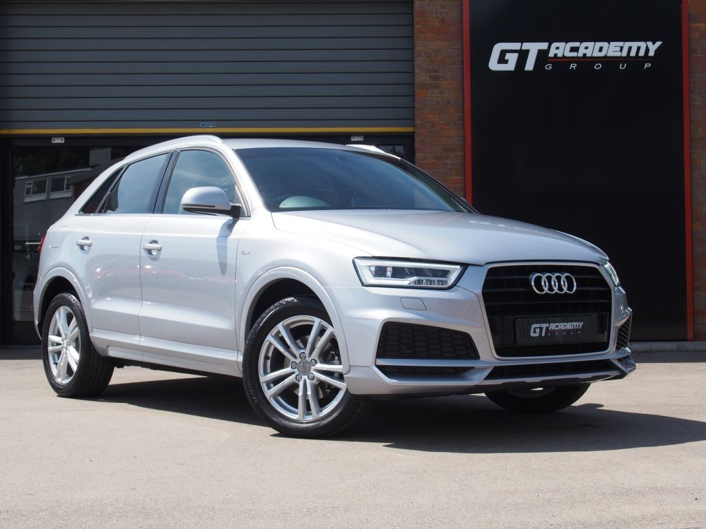 used Audi Q3 1.4T FSI S LINE EDITION GREAT VALUE - SAT NAV in tring-hertfordshire
