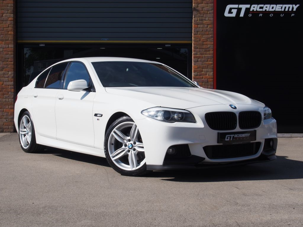used BMW 520d M SPORT AA INSPECTED - SAT NAV - FSH in tring-hertfordshire