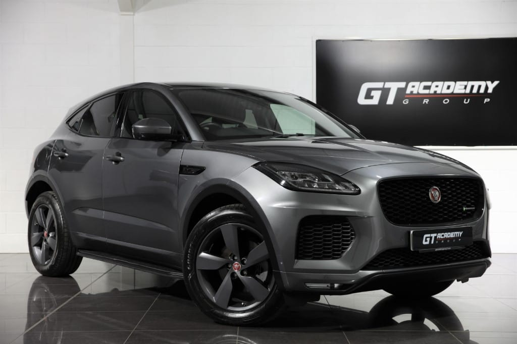 used Jaguar E-Pace CHEQUERED FLAG AWD - BLACK PACK - PAN ROOF - SIDE STEPS in tring-hertfordshire
