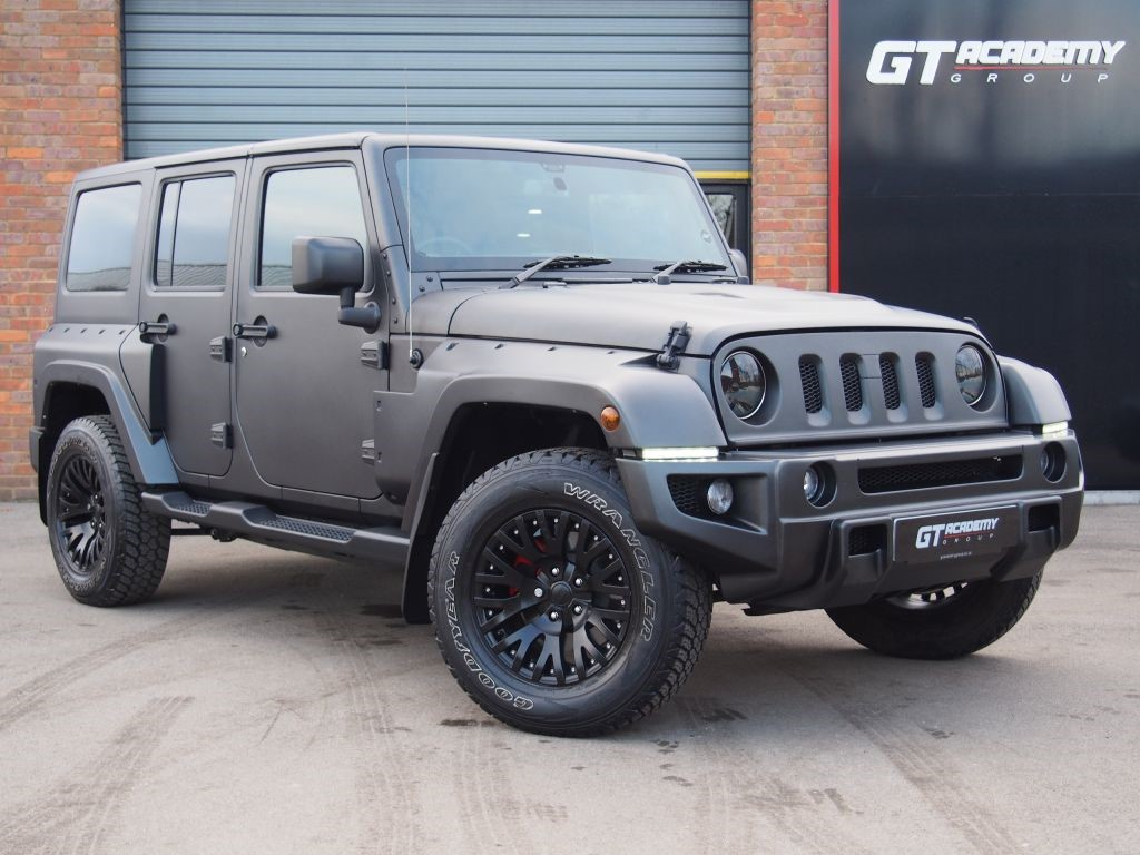 used Jeep Wrangler 3.6 V6 KAHN CHELSEA TRUCK BLACK HAWK EDITION in tring-hertfordshire