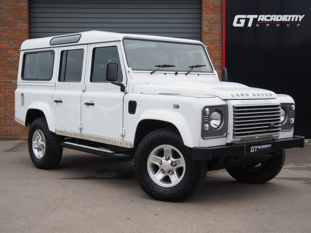 used Land Rover Defender 110 TD XS STATION WAGON LAND ROVER FSH . 7 SEATS . AA INSPECTED in tring-hertfordshire