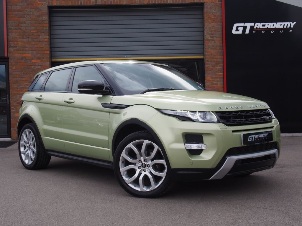 used Land Rover Range Rover Evoque SD4 DYNAMIC AA INSPECTED . FSH . 7.9% APR in tring-hertfordshire