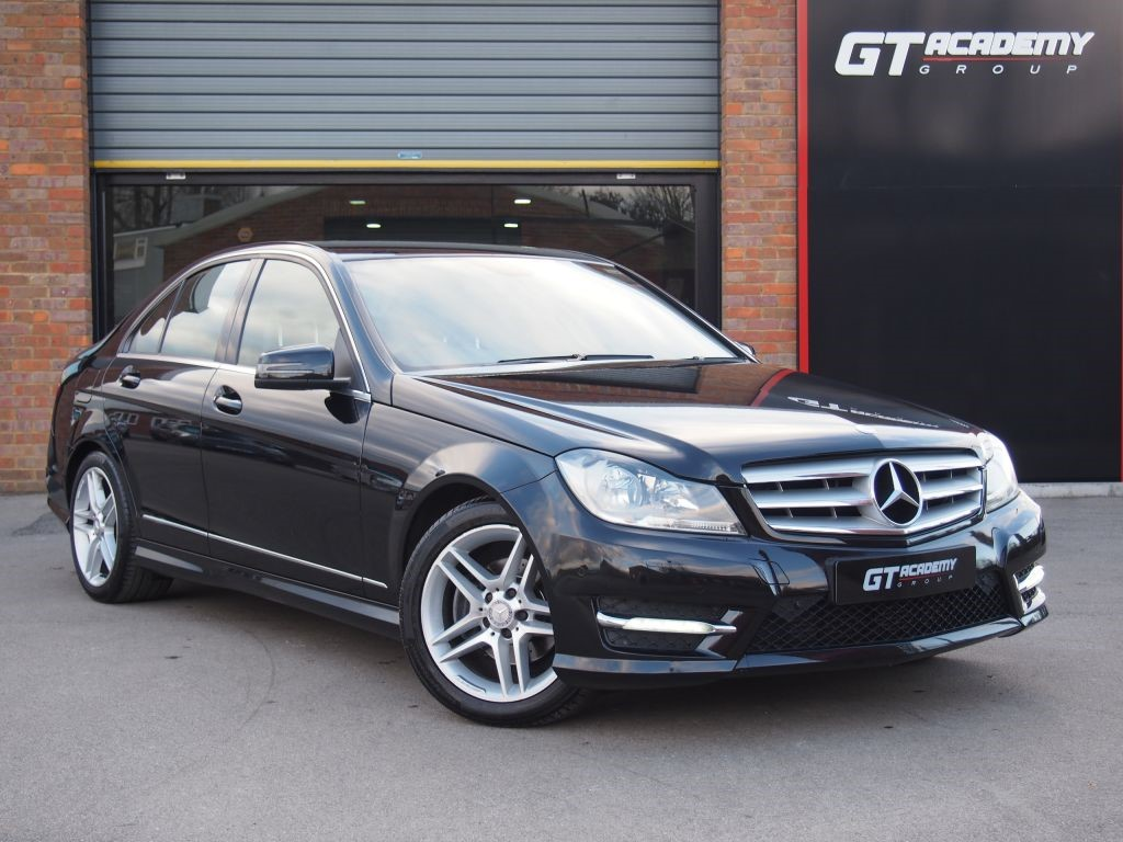 used Mercedes C220 CDI BLUEEFFICIENCY AMG SPORT AA INSPECTED . MERCEDES FSH in tring-hertfordshire