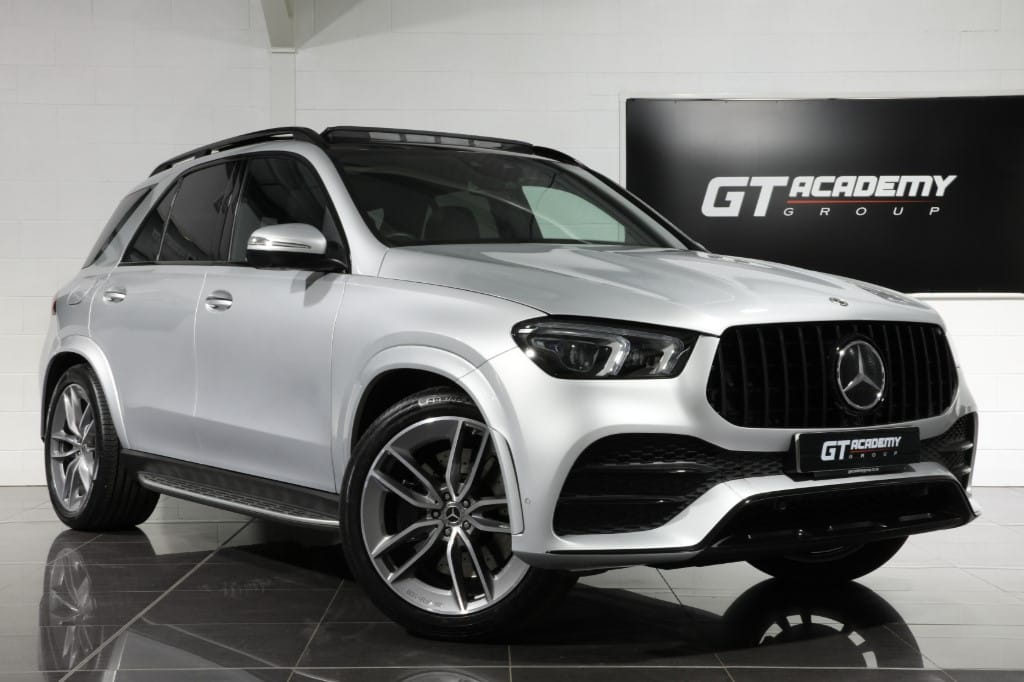 used Mercedes GLE450 MHEV 4MATIC AMG LINE PREMIUM PLUS - 1 OWNER - PAN ROOF - BLACK PACK in tring-hertfordshire