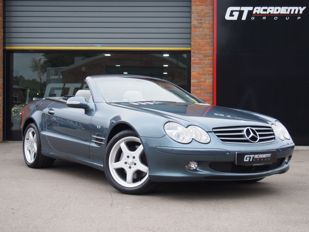 used Mercedes SL SL500 AA INSPECTED . PAN ROOF . VERY LOW MILEAGE in tring-hertfordshire