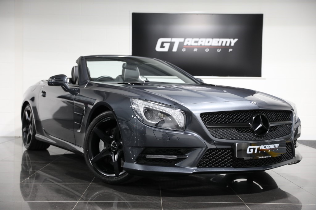 used Mercedes SL SL350 AMG SPORTS PACKAGE - 1 OWNER - FSH in tring-hertfordshire