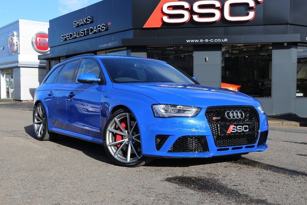 Used Blue Audi RS4 Avant For Sale | West Yorkshire