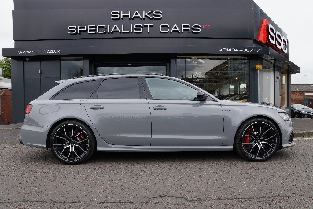 Used Grey Audi RS6 Avant For Sale | West Yorkshire