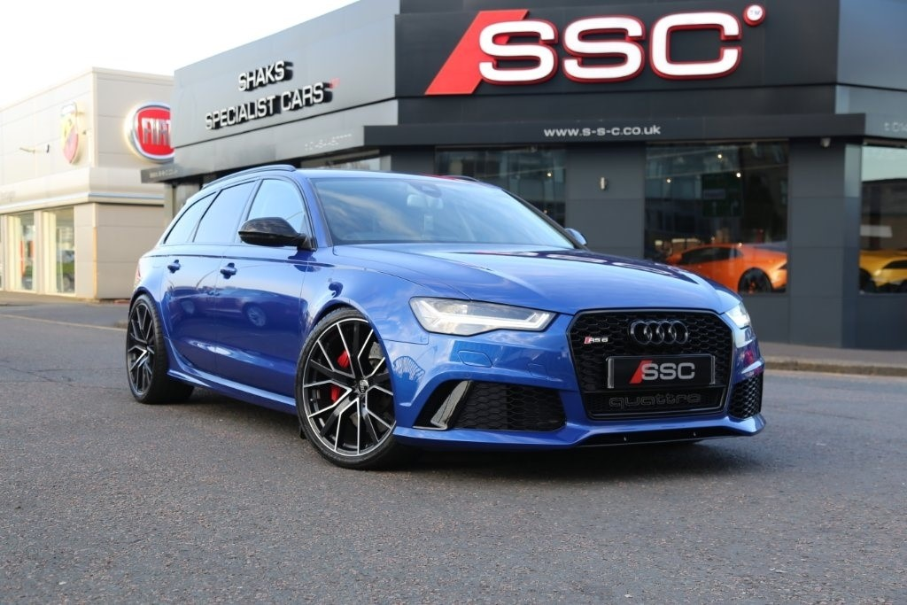 Used Blue Audi RS6 Avant For Sale   West Yorkshire