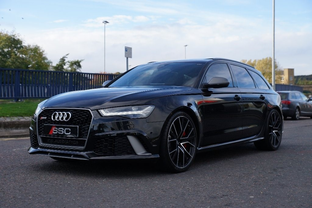 Used Black Audi Rs6 Avant For Sale West Yorkshire