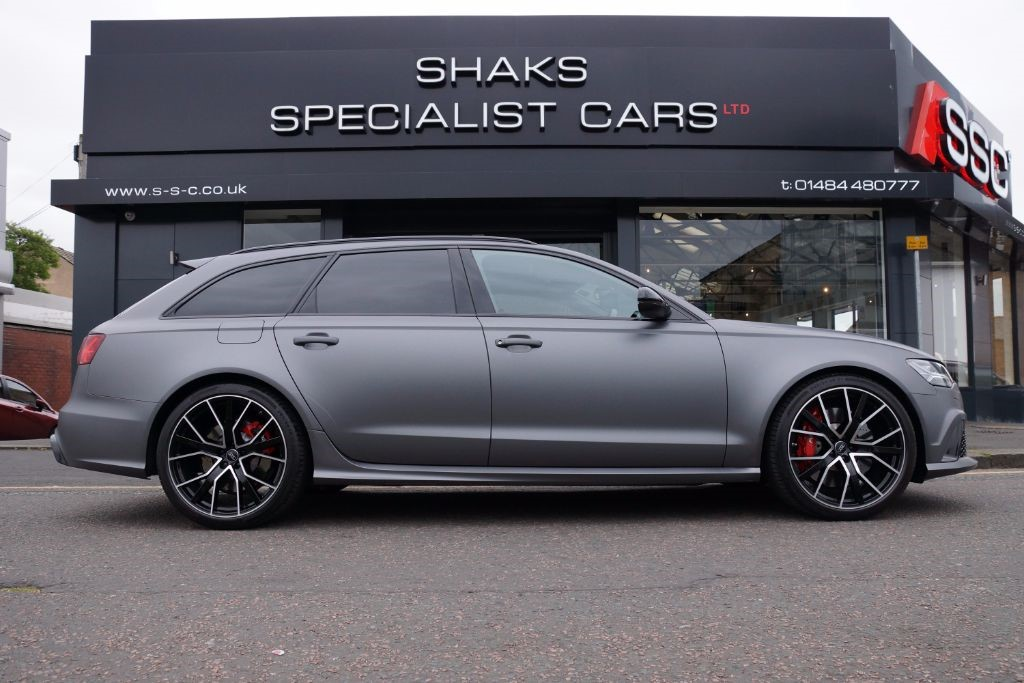 Used Grey Audi Rs6 Avant Performance For Sale West Yorkshire