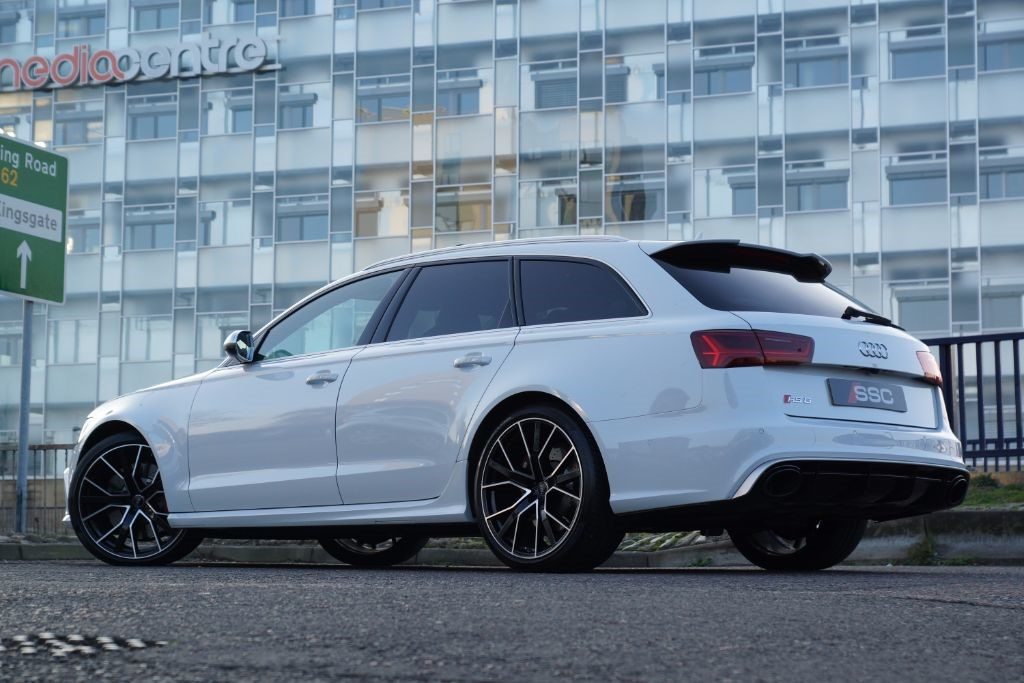 used white audi rs6 avant performance for sale west yorkshire. Black Bedroom Furniture Sets. Home Design Ideas