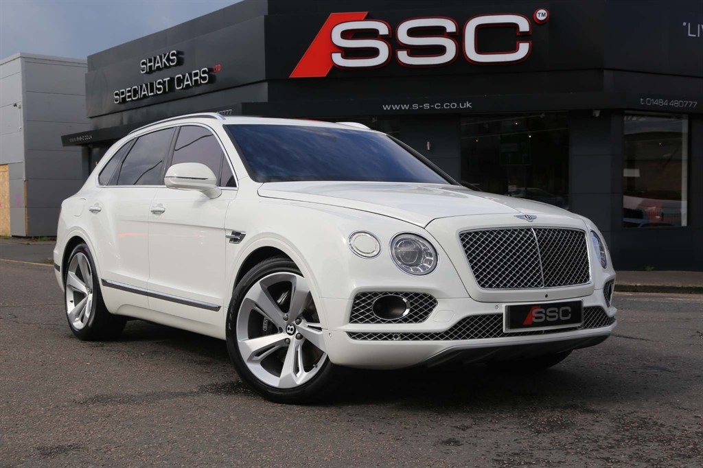Used Bentley Bentayga For Sale In Huddersfield West Yorkshire Shaks Specialist Cars Ltd