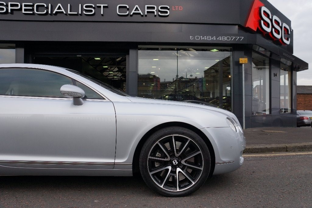 Used Silver Bentley Continental For Sale West Yorkshire