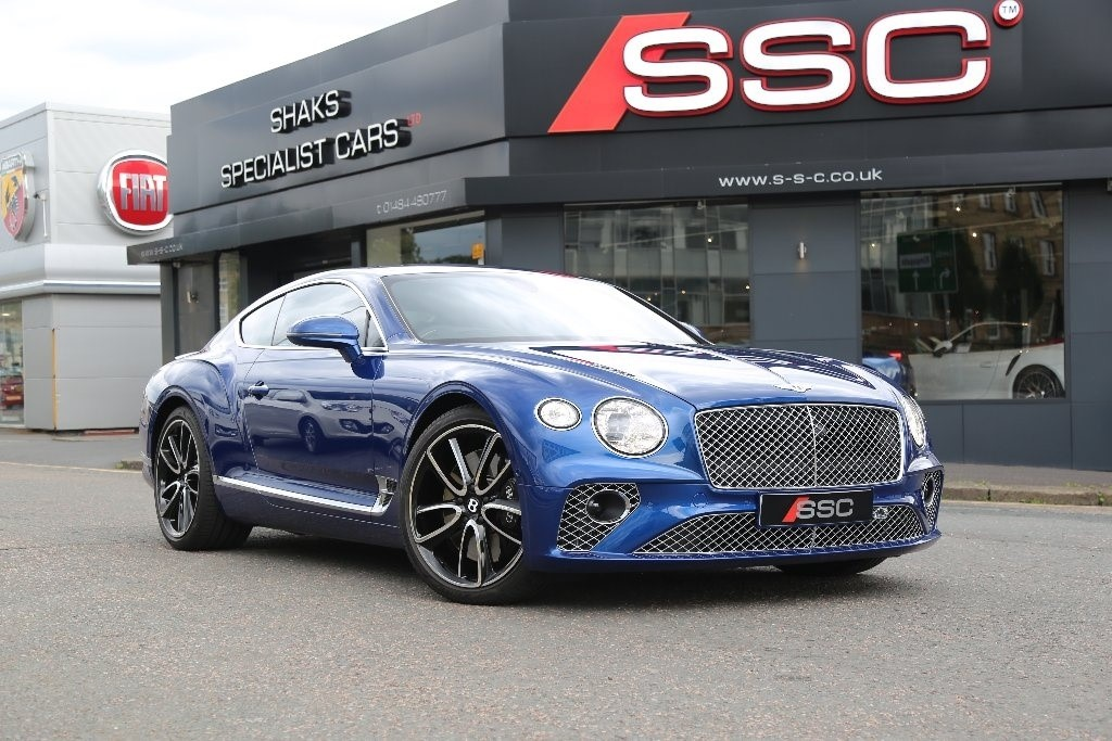 used blue bentley continental for sale | west yorkshire