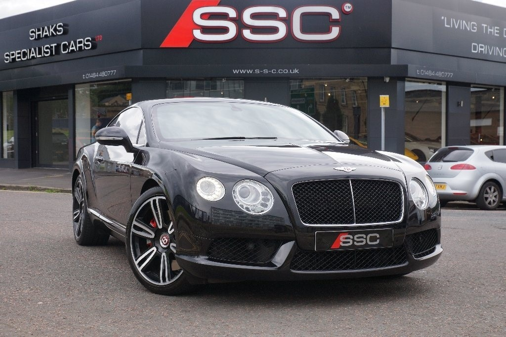 Used Black Bentley Continental For Sale West Yorkshire
