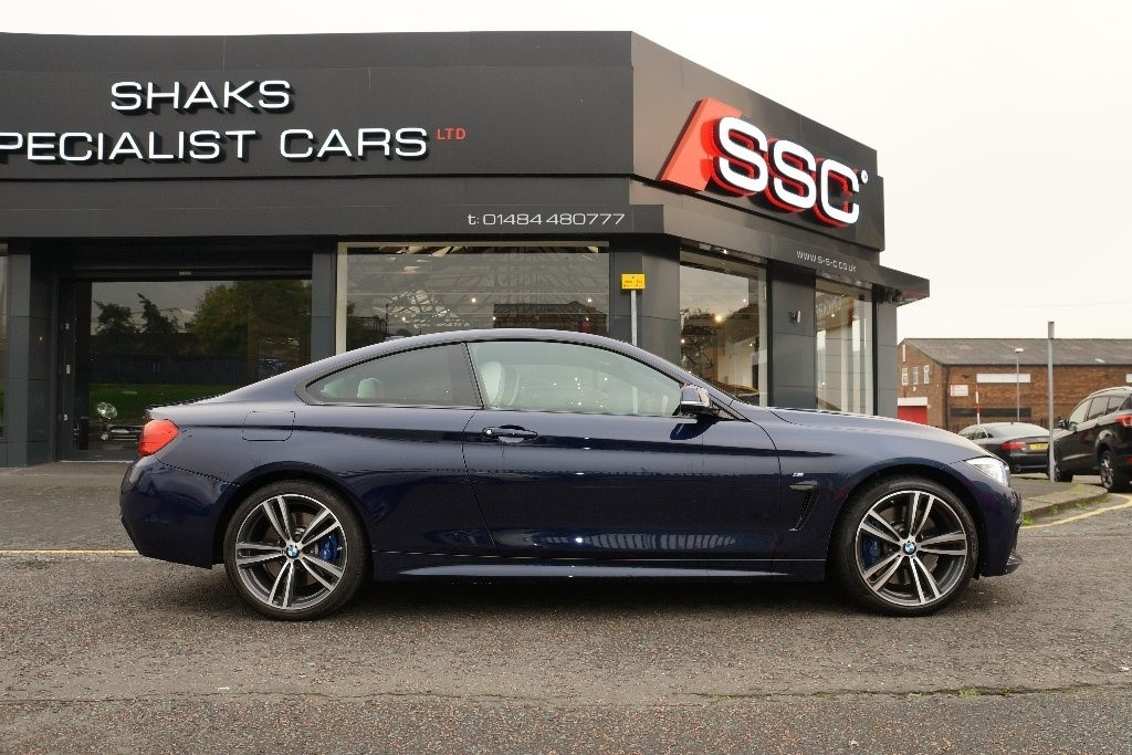 Used Blue Bmw 435d For Sale West Yorkshire
