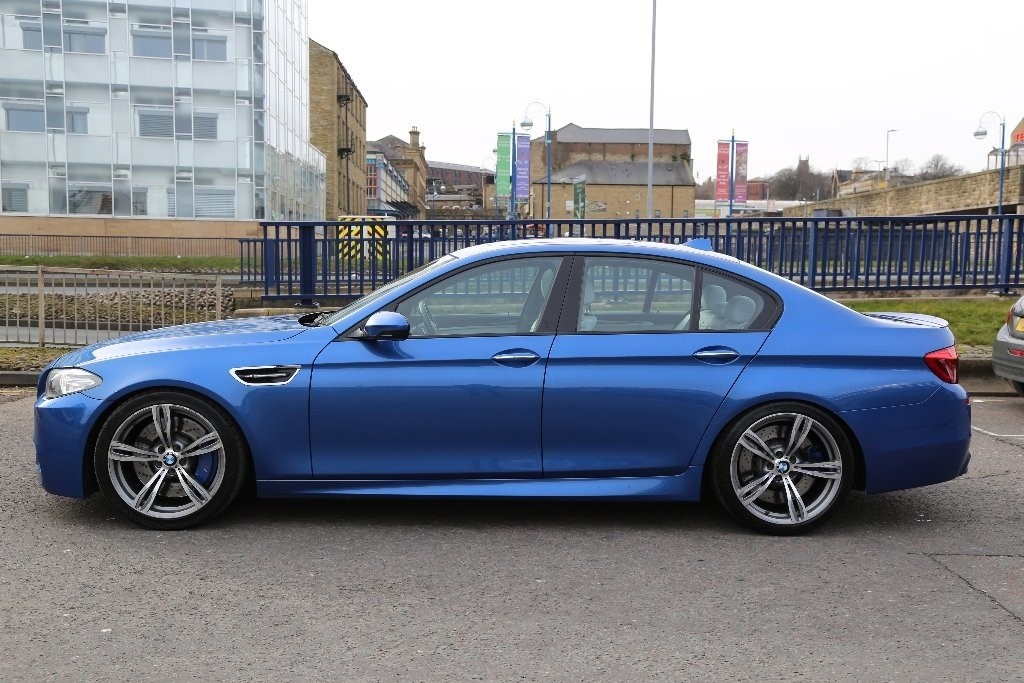 Used Blue Bmw M5 For Sale West Yorkshire