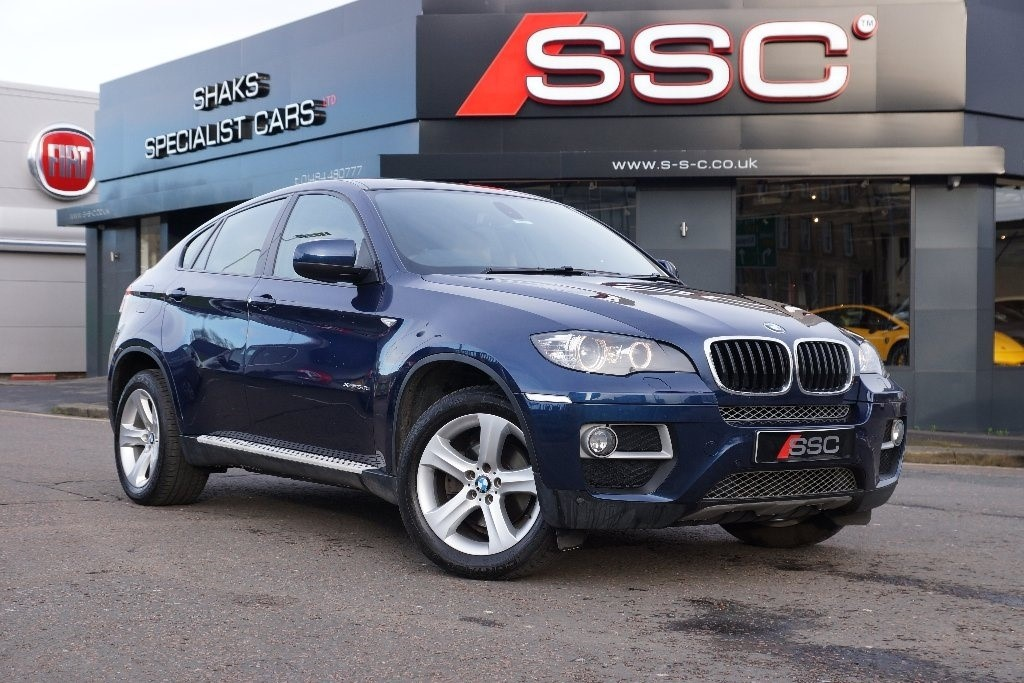 Used Blue Bmw X6 For Sale West Yorkshire