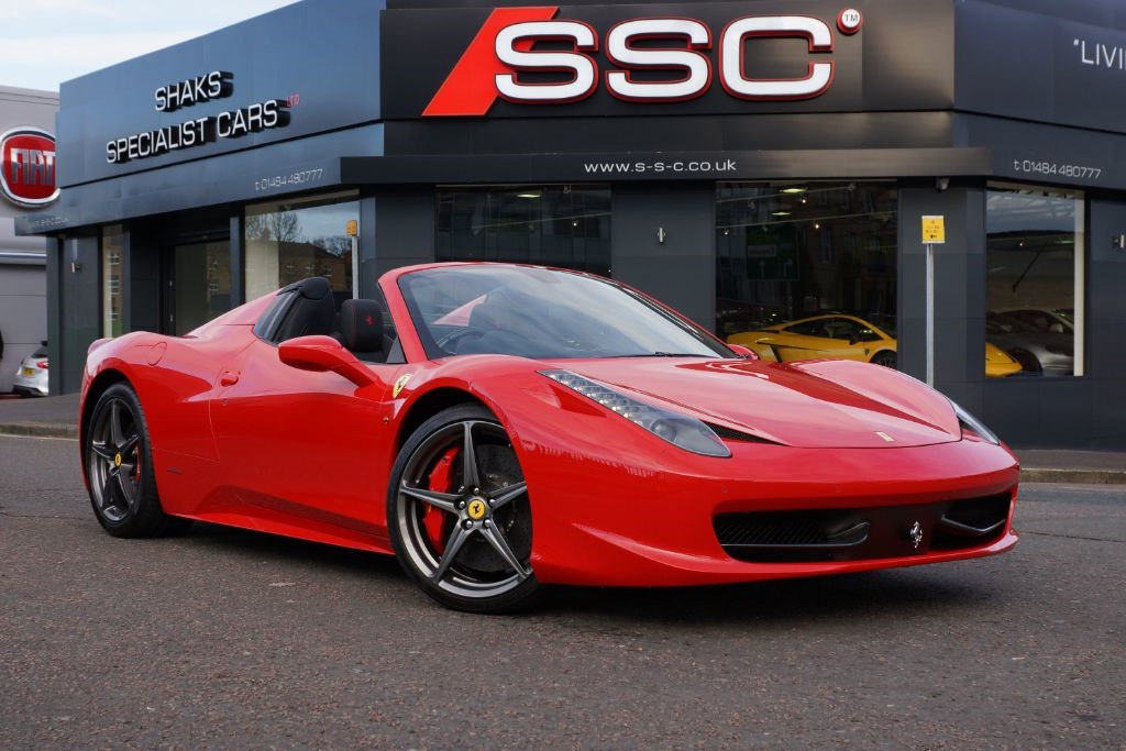 Used Red Ferrari 458 For Sale West Yorkshire