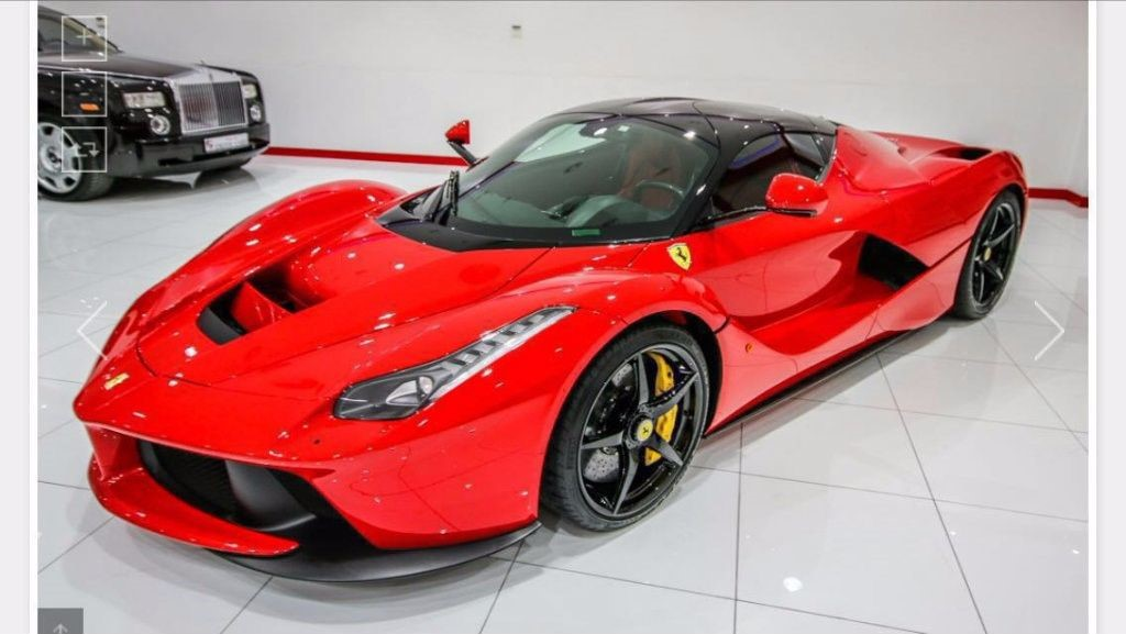 Used Red Ferrari Laferrari For Sale West Yorkshire