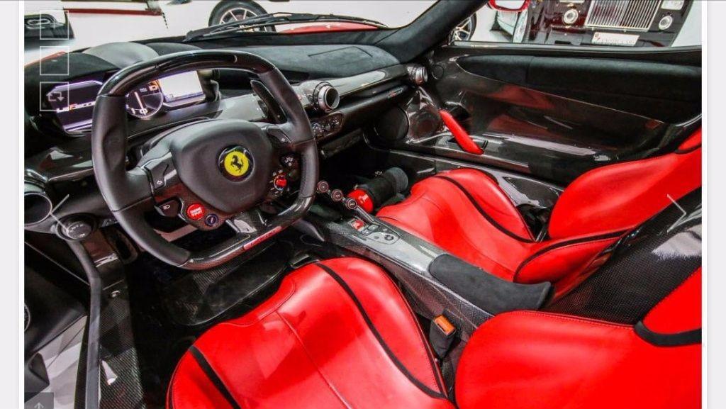 Used Red Ferrari LaFerrari For Sale