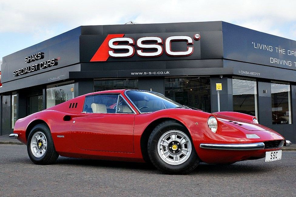 Used Red Ferrari Dino For Sale