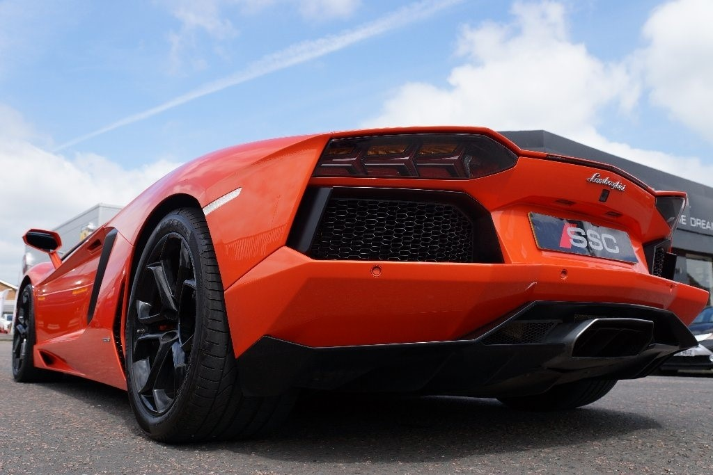 Used Orange Lamborghini Aventador For Sale | West Yorkshire
