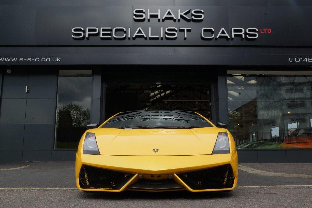 Used Yellow Lamborghini Gallardo For Sale West Yorkshire