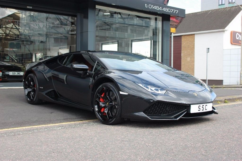 Used Black Lamborghini Huracan For Sale West Yorkshire