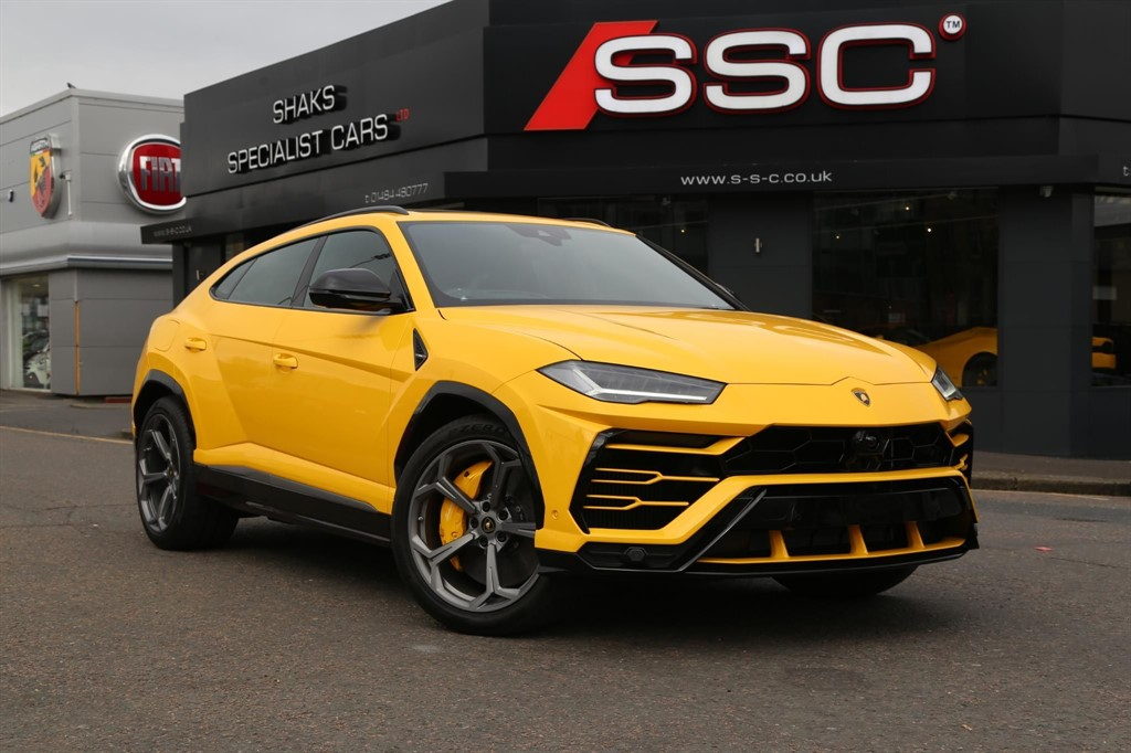 Used Yellow Lamborghini Urus For Sale