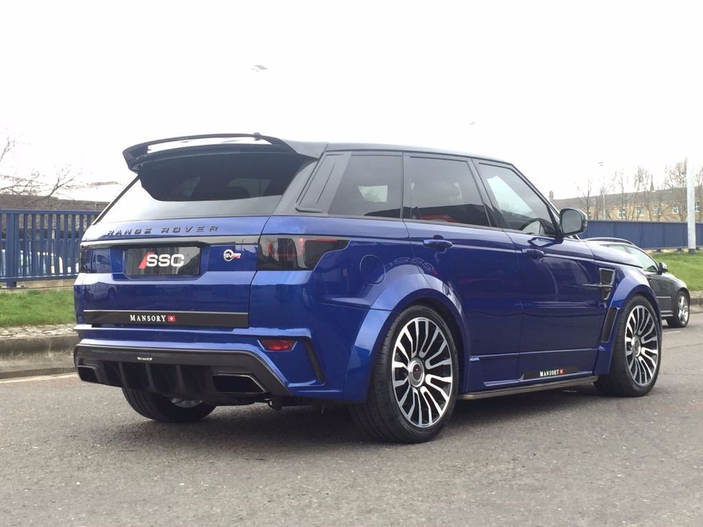 Used Blue Land Rover Range Rover Sport For Sale West
